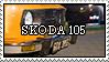 Skoda 105 Stamp by HerrHans