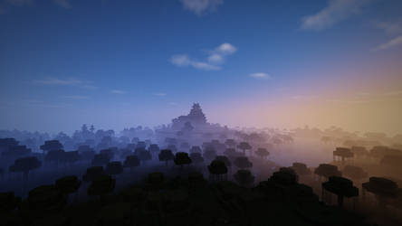 Misty fortress by HerrHans