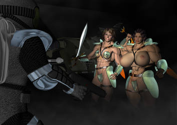 Planet of the amazons by Stone3D