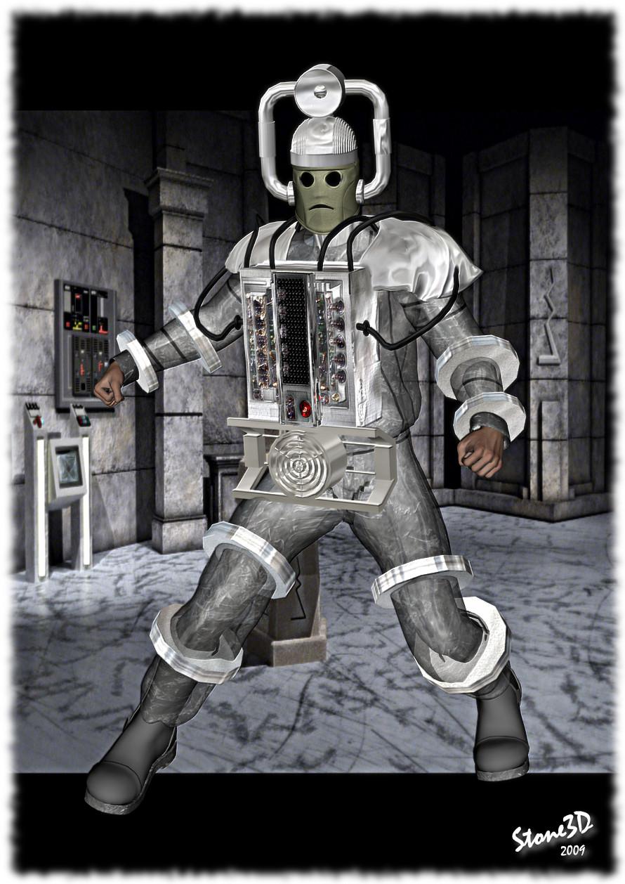 10th Planet Cyberman by Stone3D