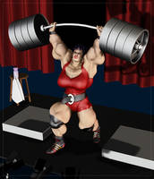 Powerlift Miranda by Stone3D