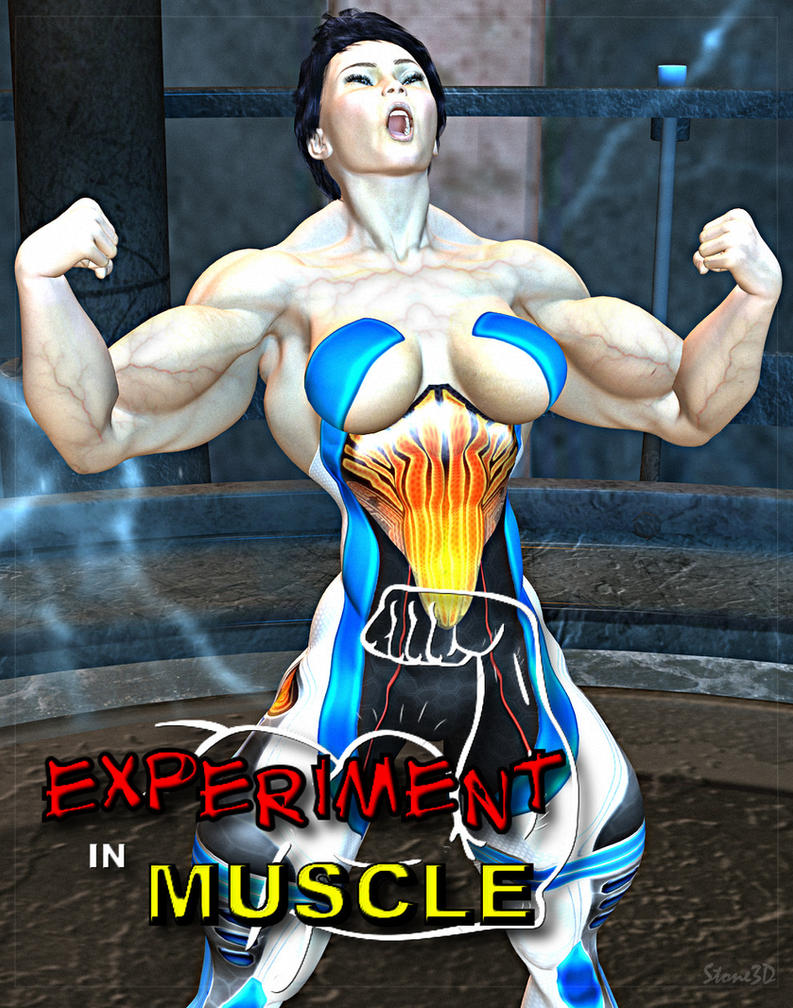 3d animated muscle females anime fun model