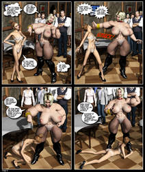 Humiliation Comic Page 8 by Stone3D