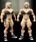 Muscled Female 3