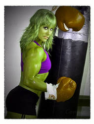 Wendy Lindquist She-Hulk 3 by fatehound45