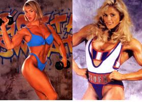 Cory Everson vs Shelley Beattie
