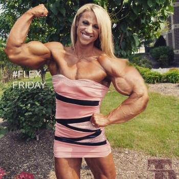 Jennifer Louwagie Muscle Morph 2 by fatehound45