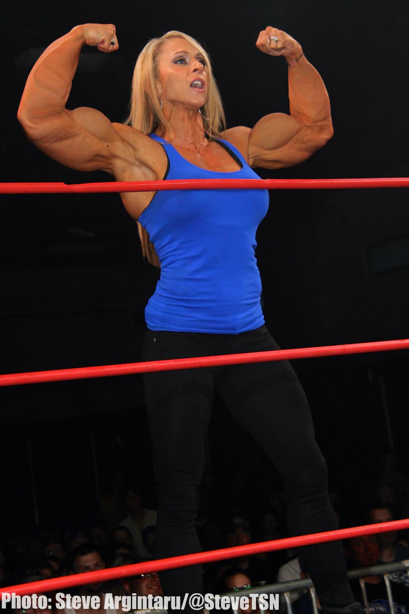 Mindi O'Brien Muscle Morph by fatehound45