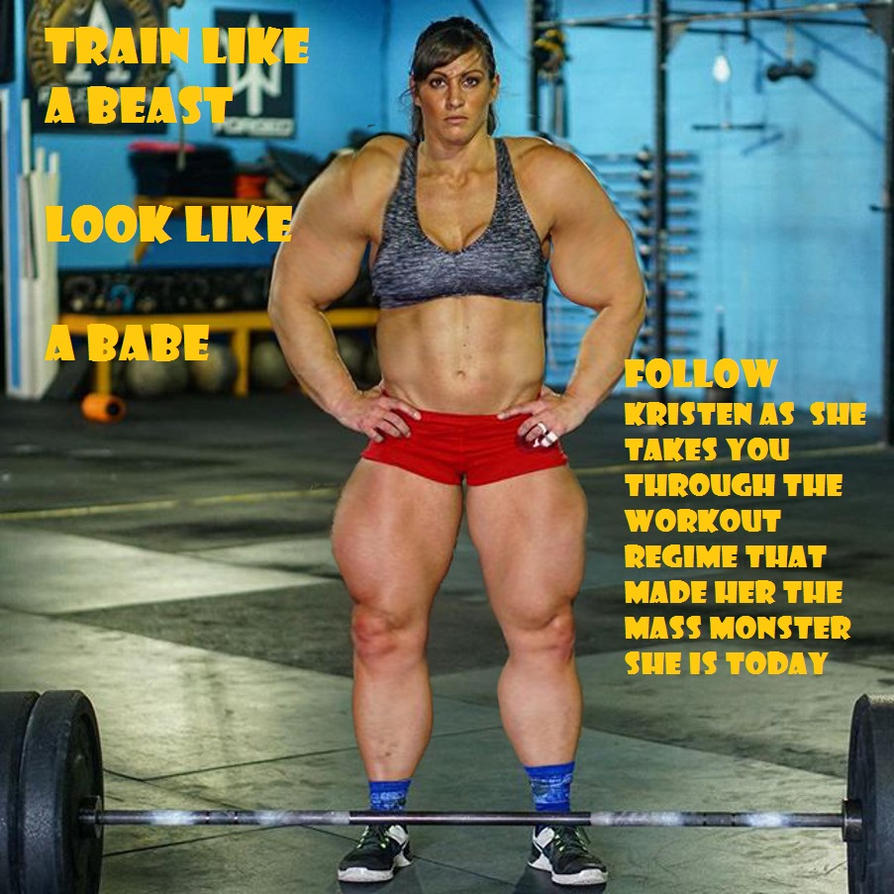 Kristen Graham's Train Like A Beast- Workout Video by fatehound45