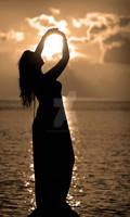 Catching rays....