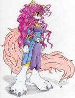 Aurora - Kitsune Goddess by ichizack