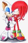 Knuckles e Rouge - no coments