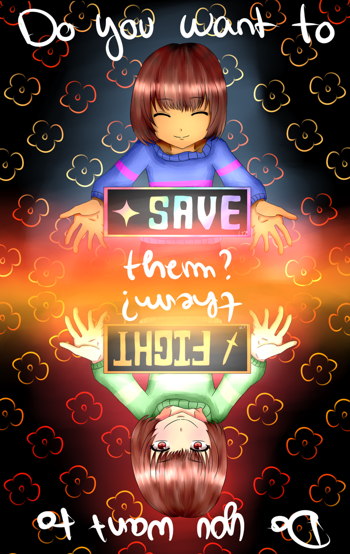 Do you want to save or fight them ? by RenakoDream
