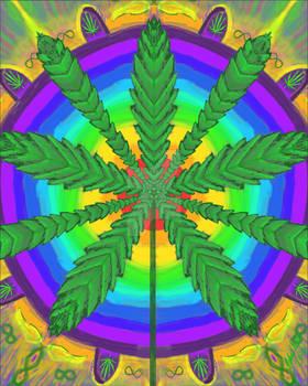Cannabis Mandala 3