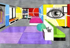 Friggin' Sweet Room by Zaratulah