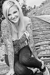 Tracks Portrait by KeepWaiting