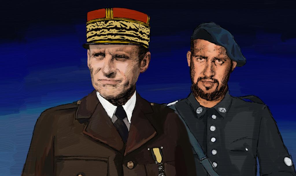 Marechal Macron by Cedono