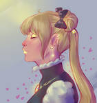 Sailor Moon drawing practice
