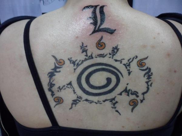 l letter tattoo by akunarul on deviantart. Black Bedroom Furniture Sets. Home Design Ideas