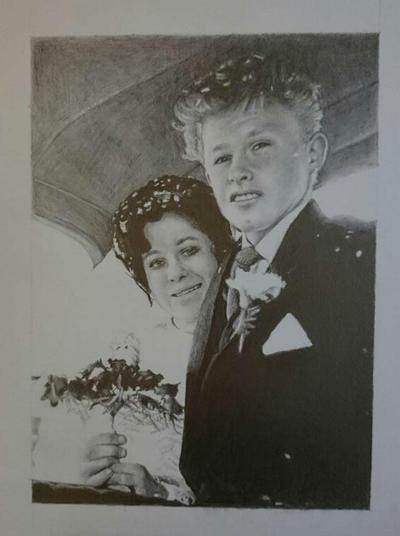 wedding anniversary commission  by timdiesel09