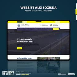 Revision Designs - Website for Alix s.r.o.