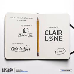 Revision Designs - Logo for Clair de Lune