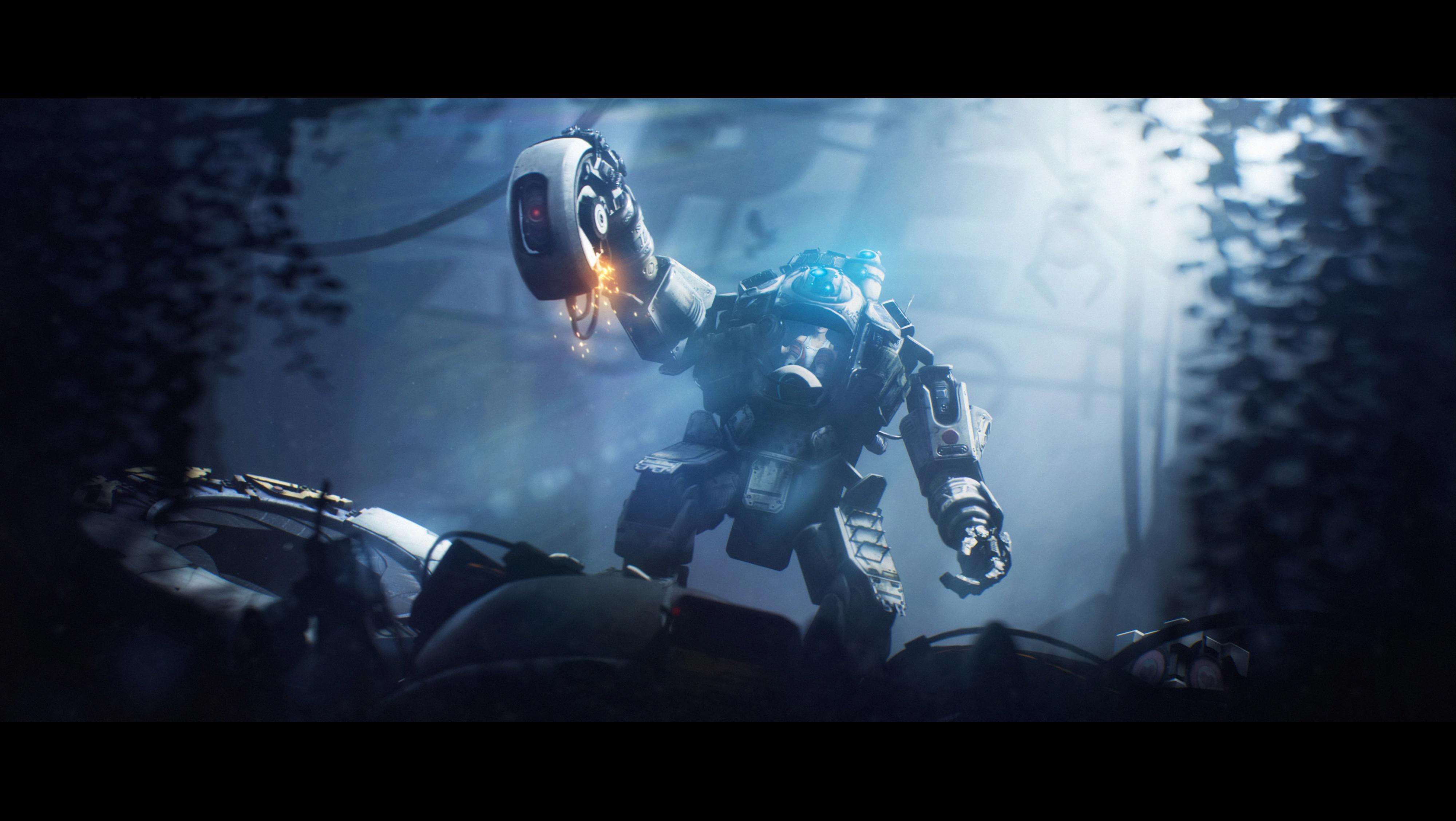 GLaDOSfall. by Heavy-shtopor