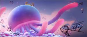 A sky full of jelly. by Heavy-shtopor