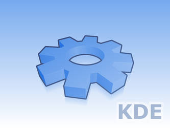 Yet another KDE Gear by zubauza