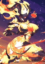 Flame Atronach by Grand-Sage