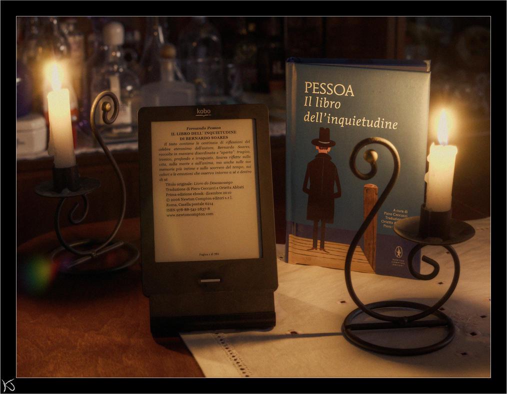 Il libro dell' Inquietudine (Pessoa) by KaJu-MANIA on DeviantArt