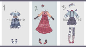[Auction][CLOSED] Outfit Batch 5