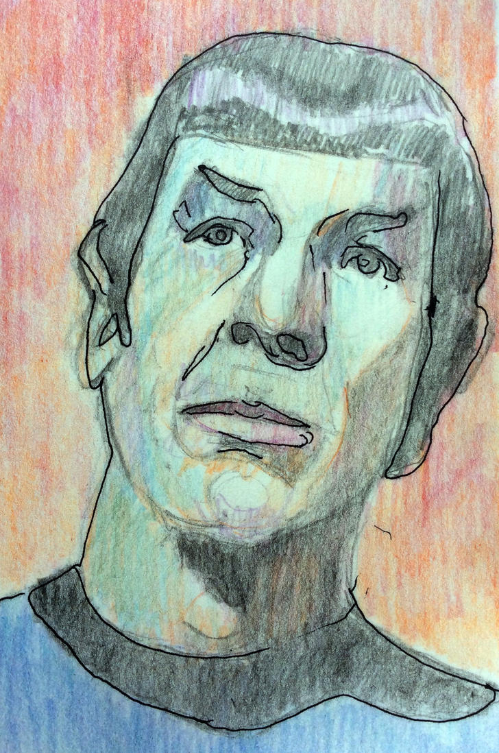 Spock by simone4390