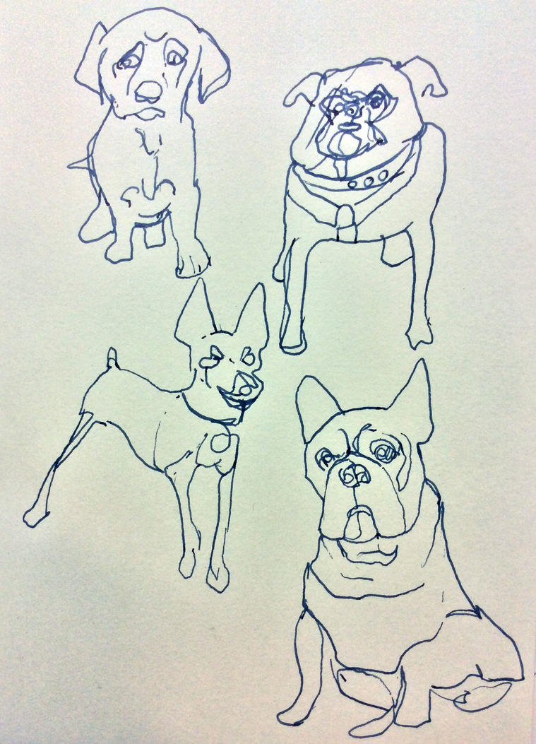 dogs by simone4390