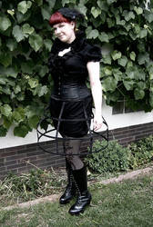 Ero Lolita - Cage Skirt by miaka-yuuki