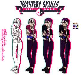 [Mystery Skulls OC] Nice to meet u, Kendra !