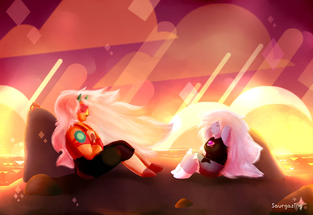Tried a bit different style than usual. ^^ Not sure how do I feel about it tbh but yeah, Jasper bonding with Amethyst is one of the things I hope for in the upcoming season!   Join our Discord...