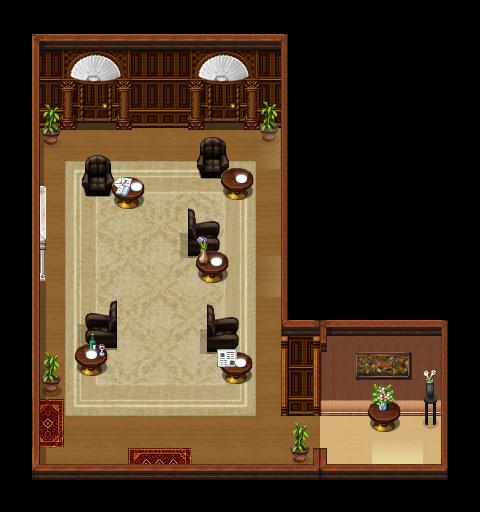 Diogenes Club - Main Room by ichitoko by SherlockTheGame