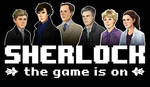 Character Portraits from SHERLOCK: THE GAME IS ON