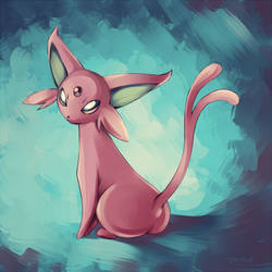 Espeon by mirabe