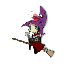 Witch by stephensaw