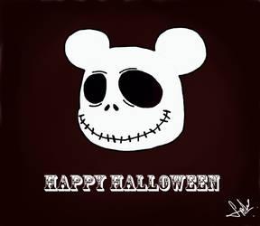 Halloween Mickey by stephensaw