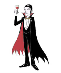 Dracula by stephensaw