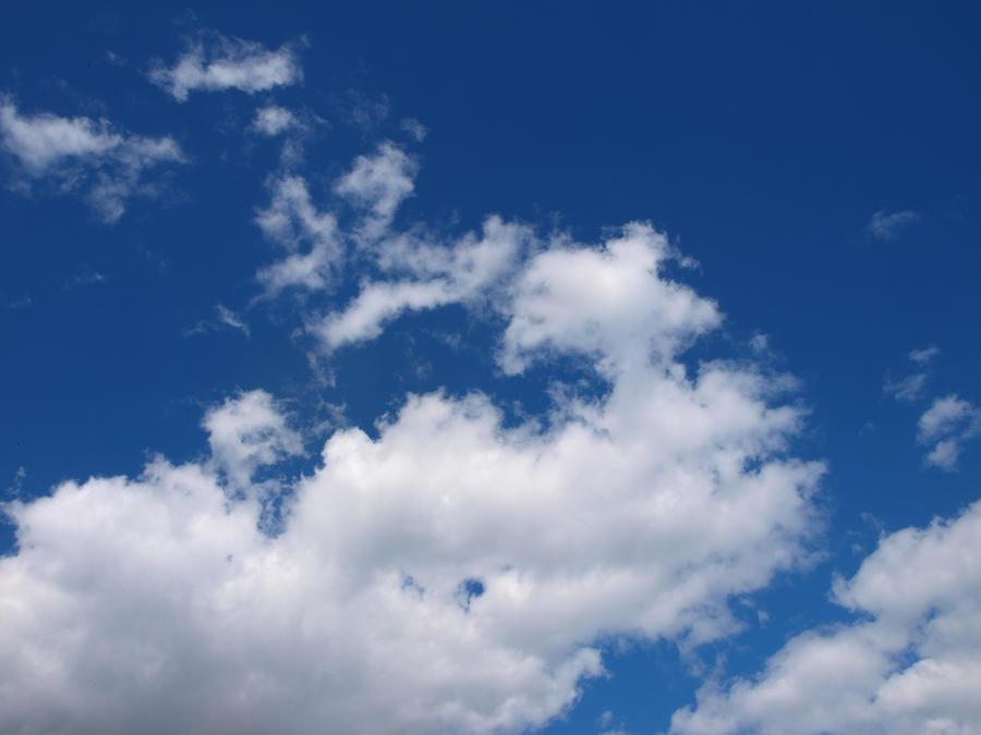 Soft Clouds 01 by K1ku-Stock