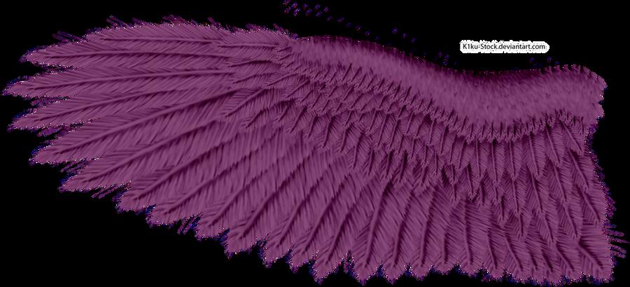 Violet Eagle Wing by K1ku-Stock