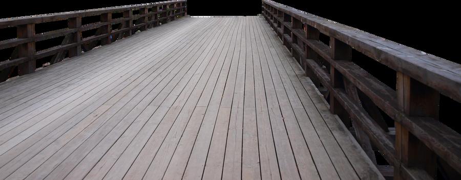 A Wooden Bridge by K1ku-Stock