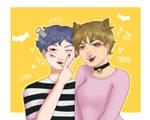 Happy Halloween - Kwan and Ashley