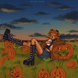 Girltober PumpkinGirl