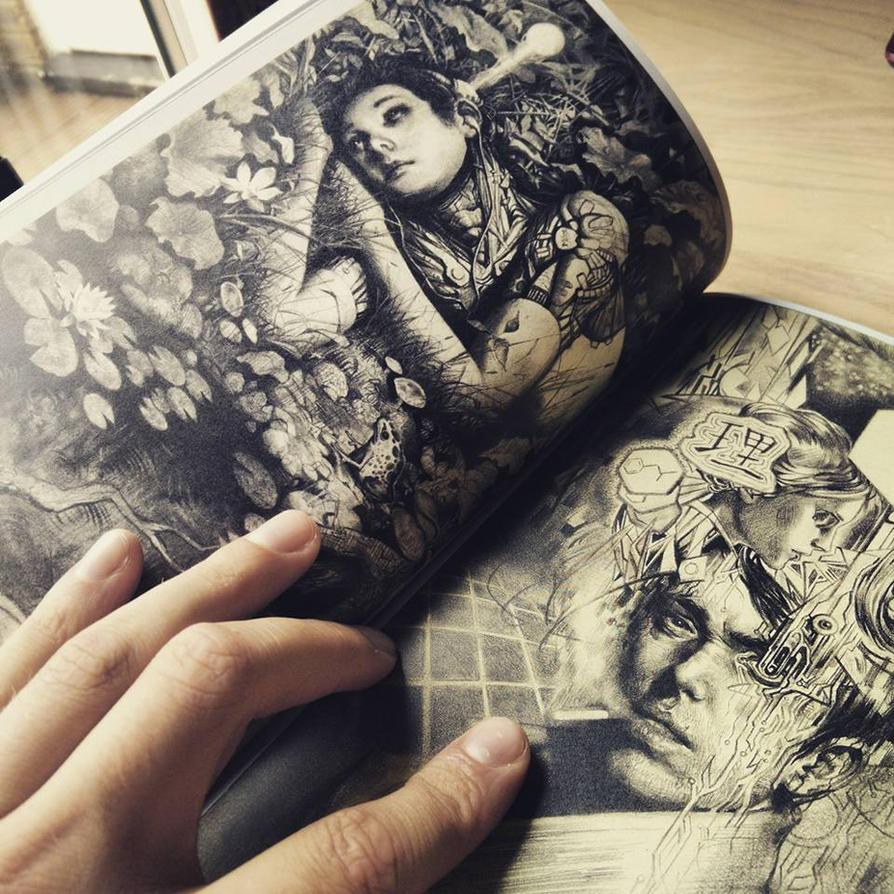 Sketchbook for Sale by Miles-Johnston