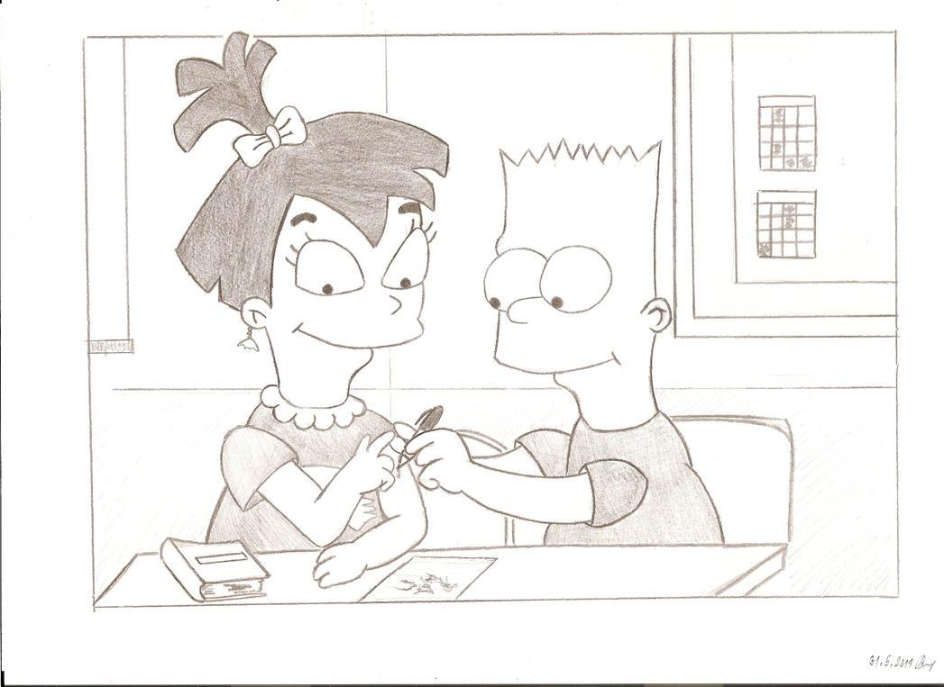 Bart and Nikki by Steffie8611